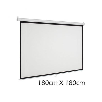 Mobileleb.com SkyPro Wall Screen for Projectors 180cm X 180cm