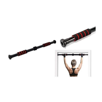 Adjustable Pull Up Door Gym Bar