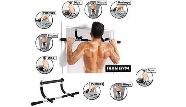 Iron Fit Total Upper Body Workout Bar