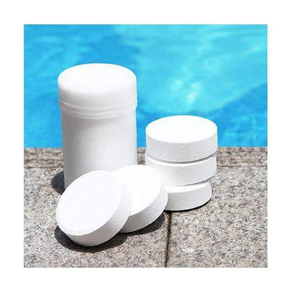 Mobileleb.com Summer & Water Activity Chlorine Tablets, Swimming Pool Control Equipment, Water Treatment Disinfectant, 1KG, 5 Tablets