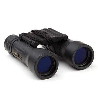 Galileo 22 x 32 Binoculars 1500M-7500M Black Day & Night Rubber Coated