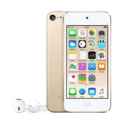 Mobileleb Gold / Brand New / 1 Year Apple iPod Touch 16B, 6th Generation, MKH02LL/A