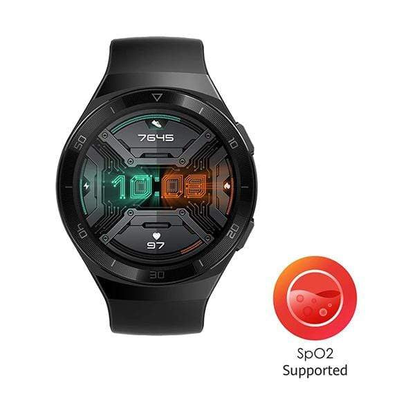 HUAWEI Watch GT 2e, 46mm, Bluetooth SmartWatch, Sport GPS 14 Days Working Fitness Tracker, Heart Rate Tracker, Blood Oxygen Monitor, Waterproof for Android and iOS, 46mm