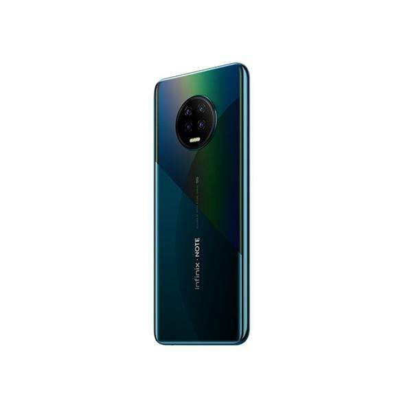 Infinix Note 7, 6GB/128GB, 6.95 Inch IPS LCD Screen, Octa core CPU, Rear Cam Quad 48MP + 2MP + 2MP + 2MP + Quad LED Flash, Selfie Cam 16MP, Fingerprint (side-mounted) + Free Jelly Case + Protective Film