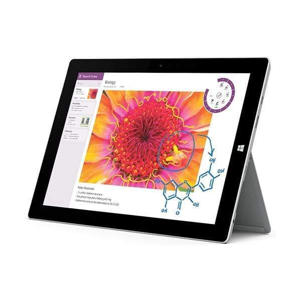 Mobileleb Microsoft Surface 3 Tablet, 10.8-Inch, 128 GB, Intel Atom, Type Cover, Windows 10