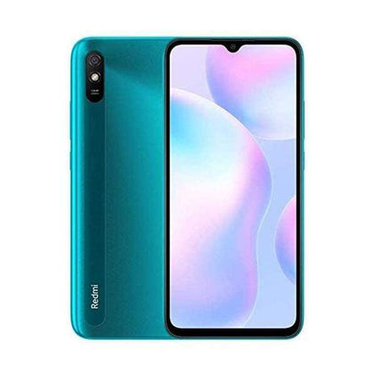 Mobileleb Ocean Green / Brand New / 1 Year Xiaomi Redmi 9A 2GB/32GB, 6.53″ IPS LCD Display, Octa-core, Rear Cam 13MP, Selphie Cam 5MP