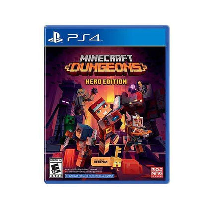 Mobileleb PS4 DVD Game Minecraft Dungeons Hero Edition - PS4