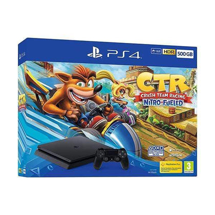 Mobileleb Sony PlayStation 4 Slim 500GB + Game Crash Team Racing Nitro Fueled