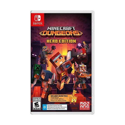 Mojang Switch DVD Game Minecraft Dungeons Hero Edition - Nintendo Switch