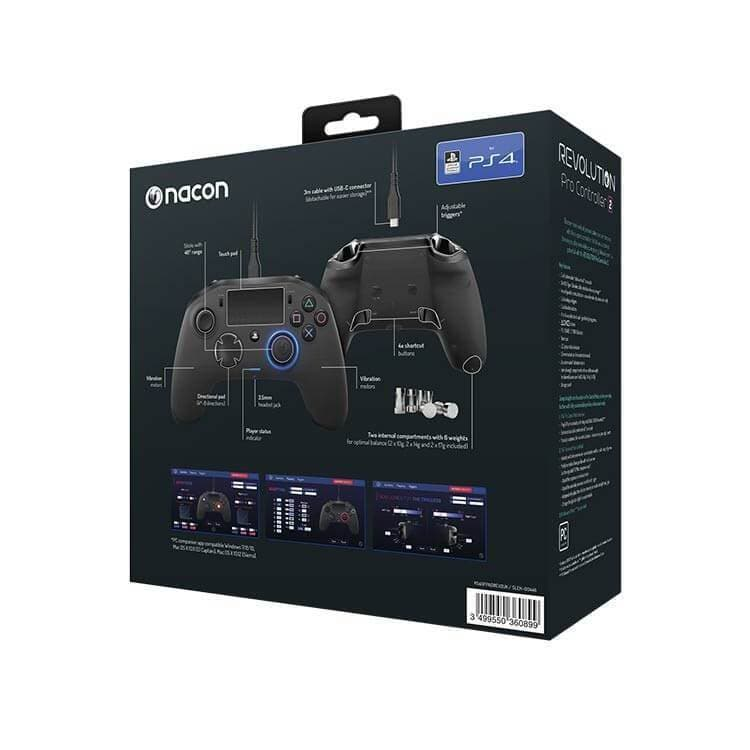 Nacon Revolution Pro Controller 2 for PS4 & PC