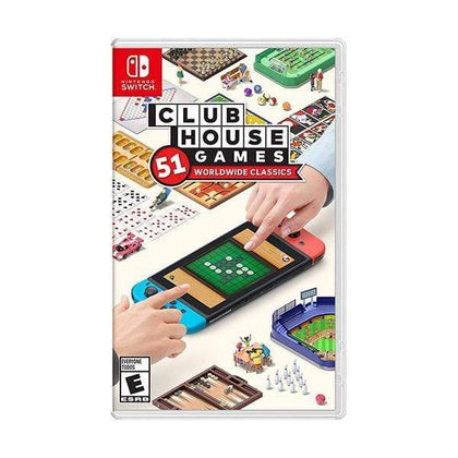Nintendo Switch DVD Game Clubhouse Games: 51 Worldwide Classics - Switch