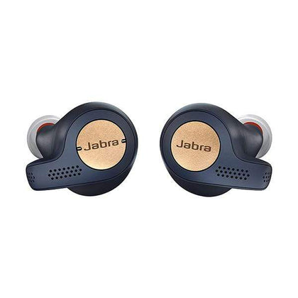 OPPO Headsets Copper Blue / Brand New Jabra Elite Active 65t Earbuds – True Wireless Earbuds with Charging Case, Copper Blue – Bluetooth Earbuds with a Secure Fit and Superior Sound, Long Battery Life and More (100-99010000-60)