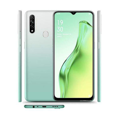 OPPO Mobile Phone Lake Green OPPO A31, 4GB/64GB, 6.5″ IPS LCD Display, Octa-core, Triple 12MP + 2MP +2MP Rear Cam, 8MP Selphie Cam
