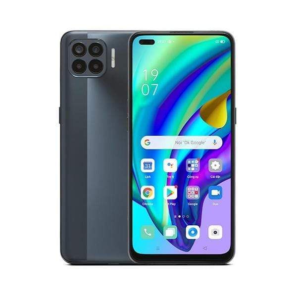 OPPO Mobile Phone Matte Black OPPO A93, 8GB/128GB, 6.43″ Super AMOLED Display, Octa-core, Quad Rear Cam 48MP + 8MP+ 2MP + 2MP, Dual Selphie Cam 16MP + 2MP, Fingerprint (under display, optical)