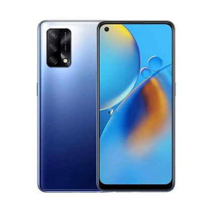 OPPO Mobile Phone Midnight Blue / Brand New / 1 Year OPPO A74 6GB/128GB, 6.43″ AMOLED Display, Octa-core, Triple Rear Cam 48MP + 2MP + 2MP, Selphie Cam 16MP, Fingerprint (under display, optical)