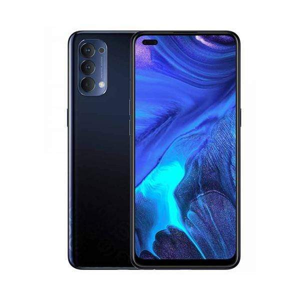 OPPO Mobile Phone Space Black OPPO Reno4, 8GB/128GB, 6.4″ OLED Display, Octa-core, Quad Rear Cam 48MP + 8MP + 2MP + 2MP, Selphie Cam 32MP, Fingerprint (under display, optical)