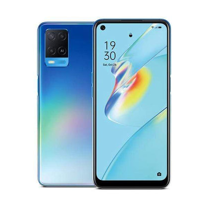 OPPO Mobile Phone Starry Blue / Brand New / 1 Year OPPO A54 4GB/64GB, 6.51″ IPS LCD Display, Octa-core, Triple Rear Cam 13MP + 2MP + 2MP, Selphie Cam 16MP, Fingerprint (side-mounted)