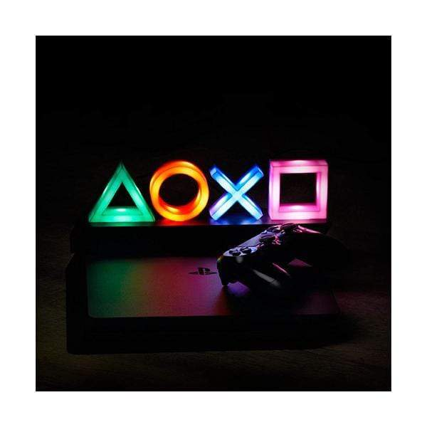 Playstation Icons Light with 3 Light Modes - Music Reactive Game Room Lighting