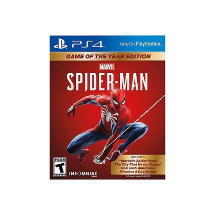 Marvel's Spider-Man: Game of The Year Edition - PS4