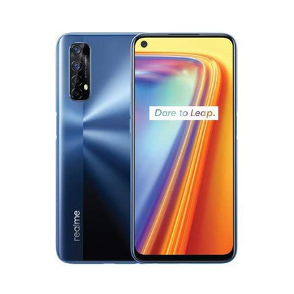 realme Mobile Phone Realme 7, 8GB/128GB, 6.5″ 90Hz IPS Display, Octa core, Rear Cam Quad 64MP + 8MP + 2MP + 2MP + LED Flash, Selphie Cam 16 MP, Fingerprint (rear-mounted)