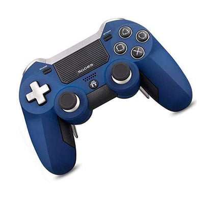 SADES Controllers Blue SADES, PS4 Controller Wireless Gamepad, Dual Competitive Sticks Sensitive Trigger Buttons and Multi-touch Clickable Touch Pad, for PlayStation 4, Support Laptops Desktop computers, and Smart TV