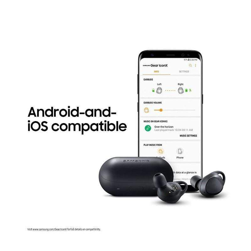 Samsung Gear IconX (2018 Edition) Bluetooth Cord-free Fitness Earbuds, with On-board 4GB MP3 Player