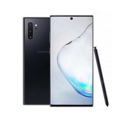 Samsung Mobile Phone Aura Black Samsung Galaxy Note 10+ 12GB/256 GB, 6.8 inch With Free JBL Flip 4 Speaker + JBL Endurance Jump Headset + Galaxy Fit E Mini
