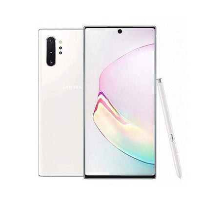 Samsung Mobile Phone Aura White Samsung Galaxy Note 10+ 12GB/256 GB, 6.8 inch With Free JBL Flip 4 Speaker + JBL Endurance Jump Headset + Galaxy Fit E Mini
