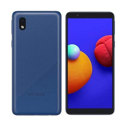 Samsung Mobile Phone Blue Samsung Galaxy A01 Core, 1GB/16GB, 5.3″ PLS TFT Display, Quad-core, Rear Cam 8MP, Selphie Cam 5MP - SM-A013