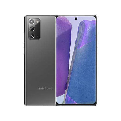 Samsung Mobile Phone Mystic Gray / Brand New / 1 Year Samsung Galaxy Note 20, 8GB/256GB, 6.7″ Super AMOLED Plus Display, Octa-core, Triple Rear Cam 12MP + 64MP + 12MP, 10MP Selphie Cam, Fingerprint (under display, ultrasonic) - SM-N980F