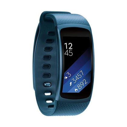 Samsung Smartwatch, Smart Band & Activity Trackers Blue / Brand New / 1 Year Samsung Gear Fit2