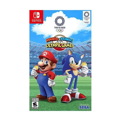 SEGA Switch DVD Game Brand New Mario & Sonic at the Olympic Games Tokyo 2020 - Nintendo Switch