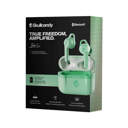 Skullcandy Headsets Pure Mint / Brand New Skullcandy Indy Evo True Wireless In-Ear Earbud
