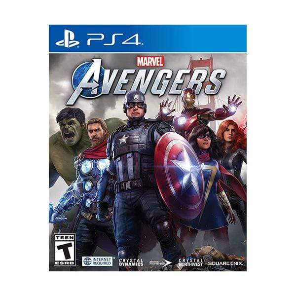 Square Enix PS4 DVD Game Marvel's Avengers - PS4