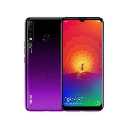 TECNO Mobile Phone Royal Purple TECNO Spark 4, 3GB/32GB, 6.6