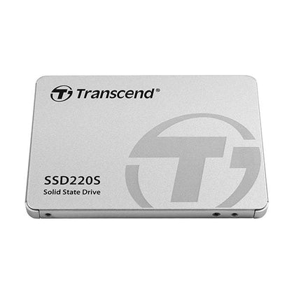 Transcend Hard Drives & SSDs Silver / Brand New / 1 Year Transcend 480 GB TLC SATA III 6Gb/s 2.5