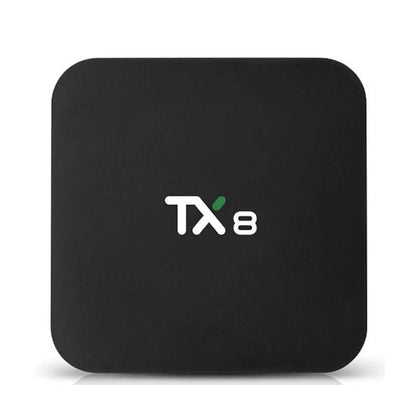TX8 Streaming Media Players TX8 4GB/32GB Smart TV Box, WiFi, Bluetooth 4.0, Android 9.0