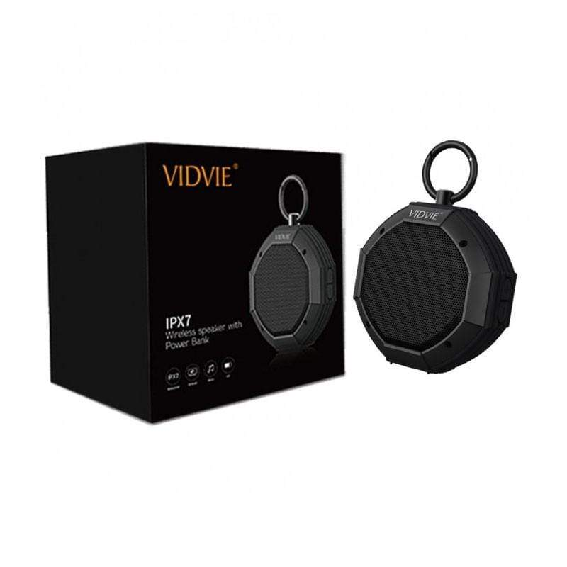 Vidvie, SP901 IPX7 Wireless Speaker, with 1450mAh Power Bank, 3.5mm Audio Cable