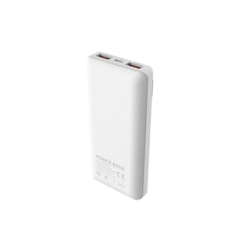 Vidvie PB733, Single Input Dual Output,Power Bank, Capacity 10000mAh, with Battery Level LED Display