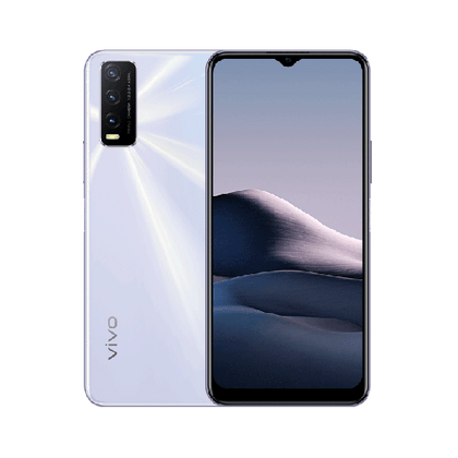 vivo Mobile Phone Dawn White / Brand New / 1 Year Vivo Y20, 4GB/64GB, 6.51″ HD+ Display, Octa-core, Triple Rear Cam 13MP + 2MP + 2MP, Selphie Cam 8MP, Fingerprint (side-mounted)