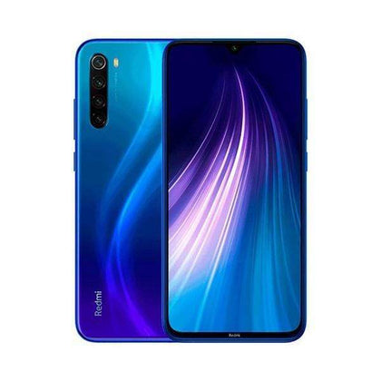Xiaomi Mobile Phone Neptune Blue Xiaomi Redmi Note 8 4GB/64GB, 6.3″ IPS LCD Display, Octa-core, Quad 48MP + 8MP + 2MP + 2MP Rear Cam, 13MP Selphie Cam