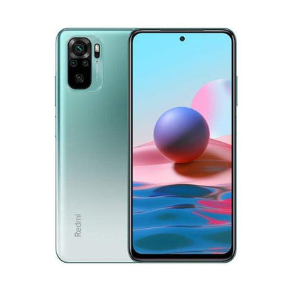 Xiaomi Mobile Phone Xiaomi Redmi Note 10 4GB/128GB, 6.43″ Super AMOLED Display, Octa-core, Rear Cam Quad 48MP + 8MP + 2MP + 2MP, Selphie Cam 13MP, Fingerprint (side-mounted)