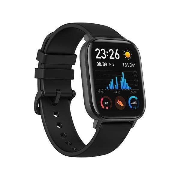 Amazfit GTS by Huami with 20-Day Battery Life, 24/7 Heart Rate and Acticity Tracking 1.3 Inch Amoled Touchscreen Ip68