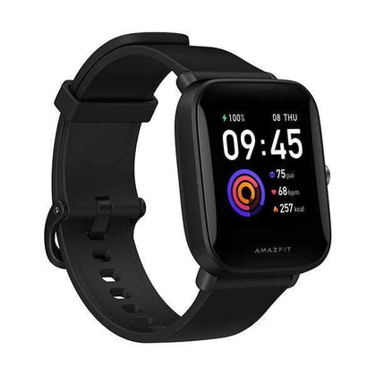 Xiaomi Smartwatch, Smart Band & Activity Trackers Black / Brand New / 1 Year Amazfit Bip U Health Fitness Smartwatch with SpO2 Measurement, 9-Day Battery Life, Breathing, Heart Rate, Stress, Sleep Monitoring, Music Control, Water Resistant, 60+ Sports Modes, HD Display