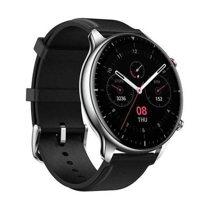 Xiaomi Smartwatch, Smart Band & Activity Trackers Classic Edition / Brand New / 1 Year Amazfit GTR 2 Smartwatch with 3GB Music Storage, GPS, Heart Rate, Sleep, Stress, SpO2 Monitor, 14-Day Battery Life, Bluetooth Phone Calls, 90 Sports Modes, Water-Resistant (Classic)