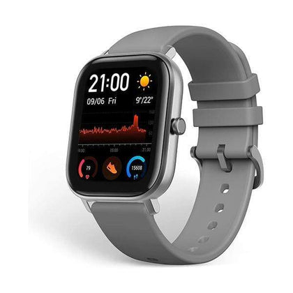 Xiaomi Smartwatch, Smart Band & Activity Trackers Grey Amazfit GTS by Huami with 20-Day Battery Life, 24/7 Heart Rate and Acticity Tracking 1.3 Inch Amoled Touchscreen Ip68