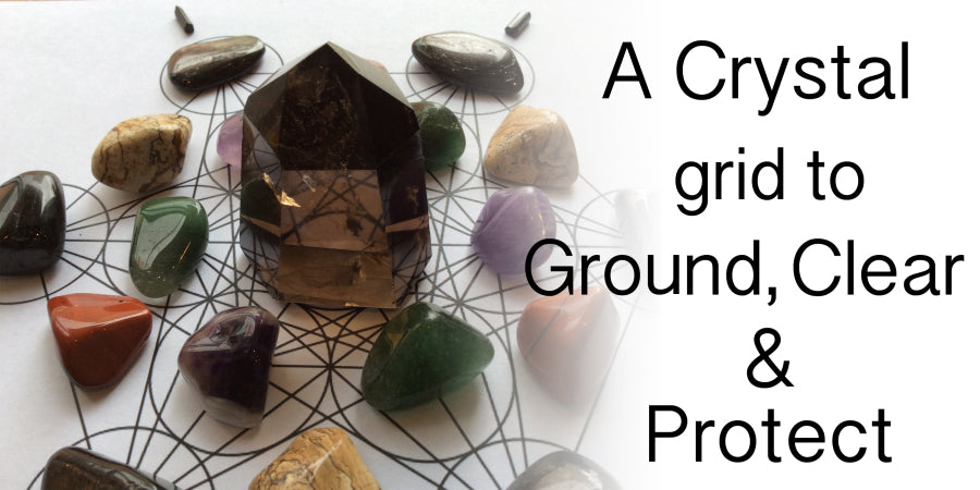 A Crystal Grid to Clear Space for a New Start