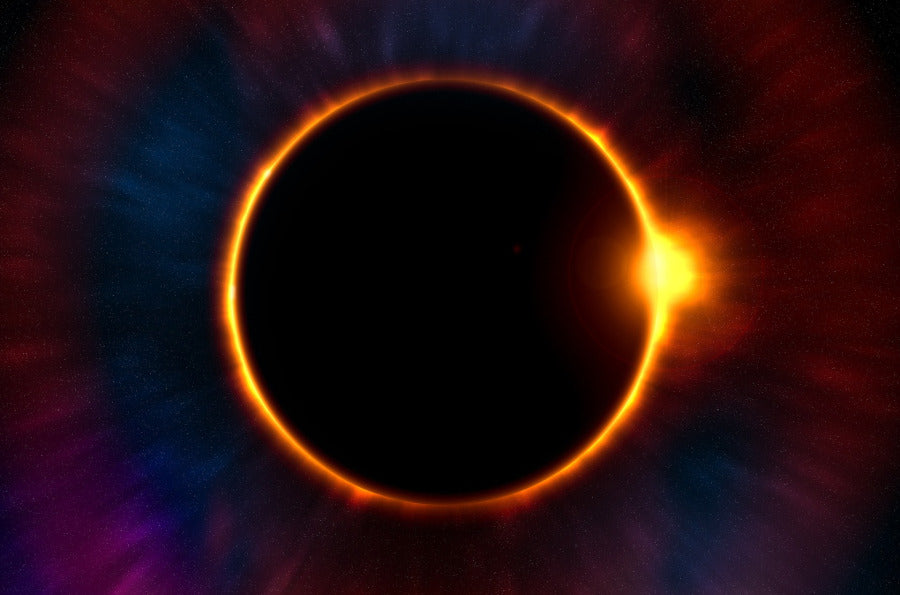 New Moon Solar Eclipse in Leo