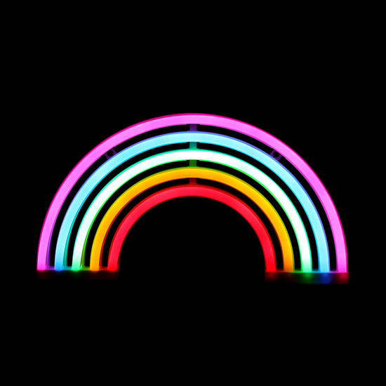 Rainbow Light-Up Sign