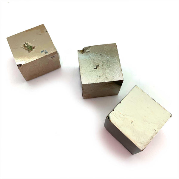 Pyrite Cube for abundance, inner light, self worth